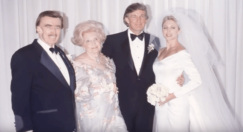 Trump Went All Out For His Second Wedding 24h