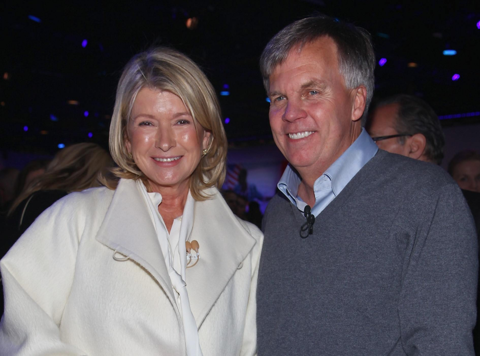 Martha Stewart and Ron Johnson at JcPenney Launch event