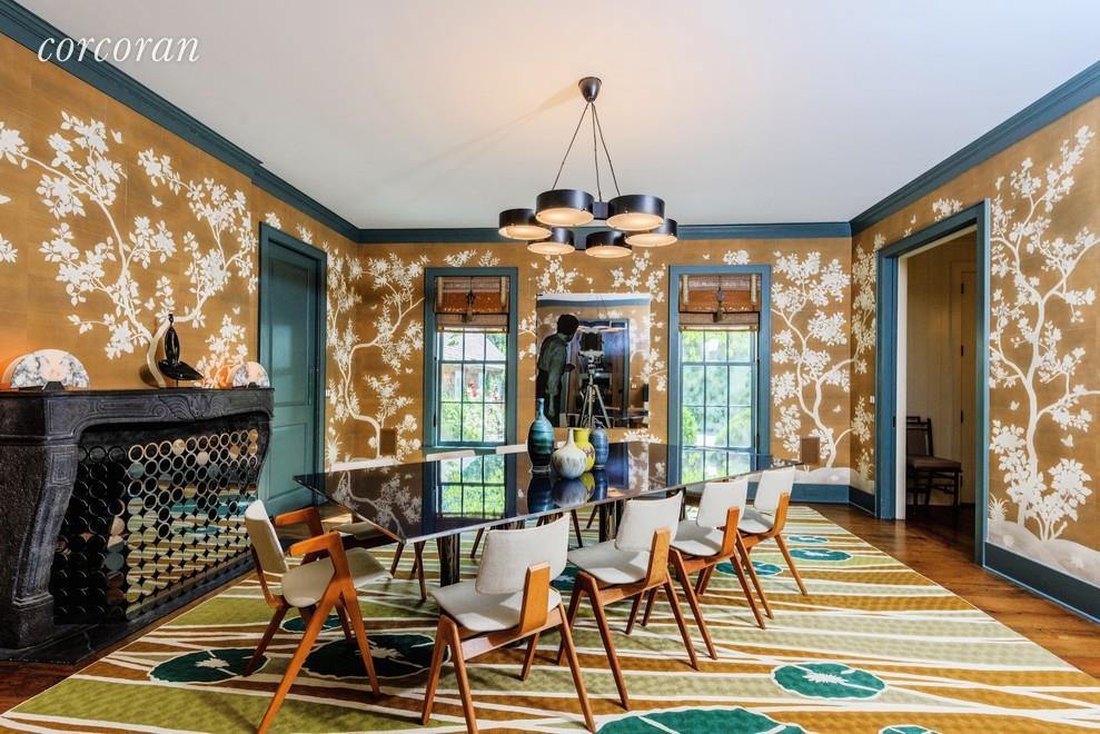 Matt Lauer house dining room