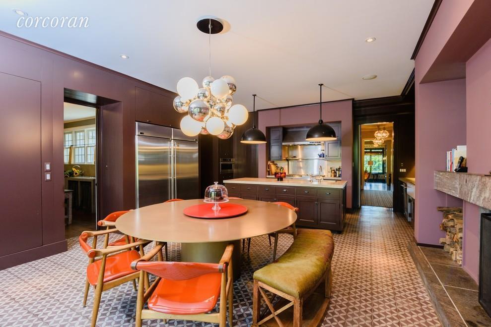 Matt Lauer house kitchen