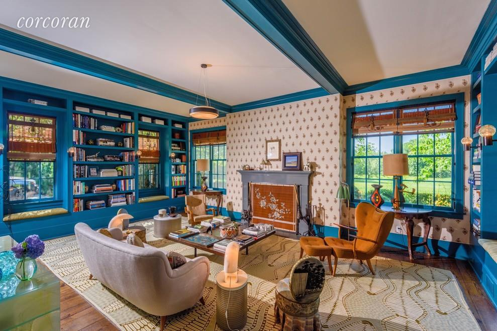 Matt Lauer house living room