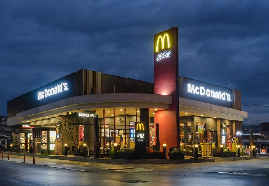 McDonald's exterior.