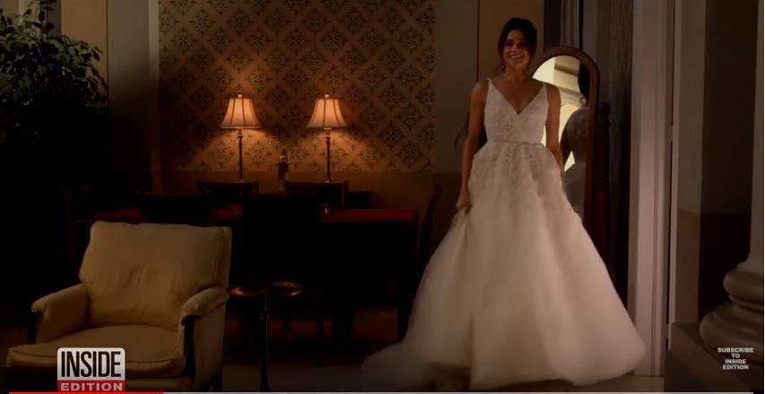 Meghan Markle in wedding dress