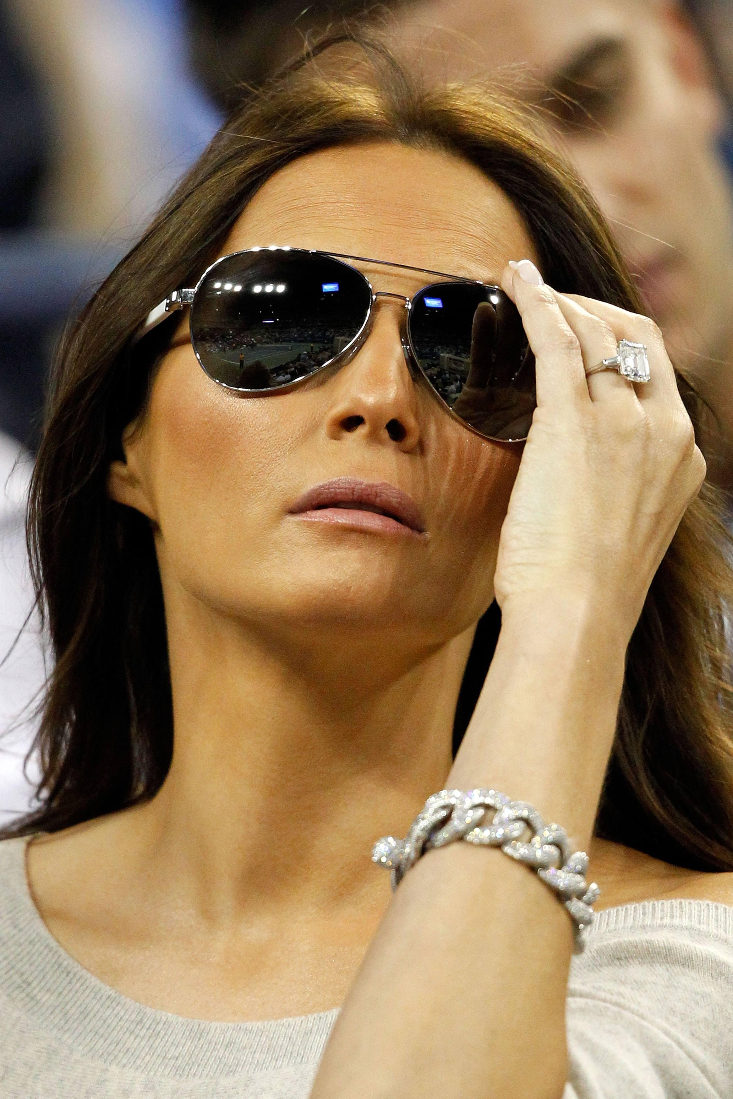Melania Trump 25 carat ring