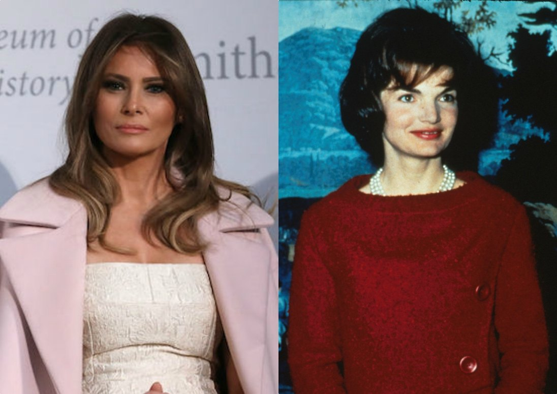 Melania and Jackie O