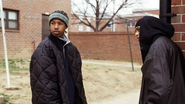 Michael B Jordan in The Wire
