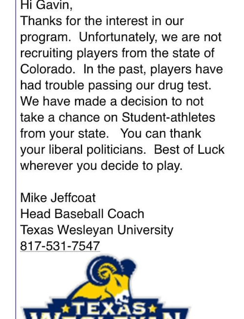 Mike Jeffcoat email.