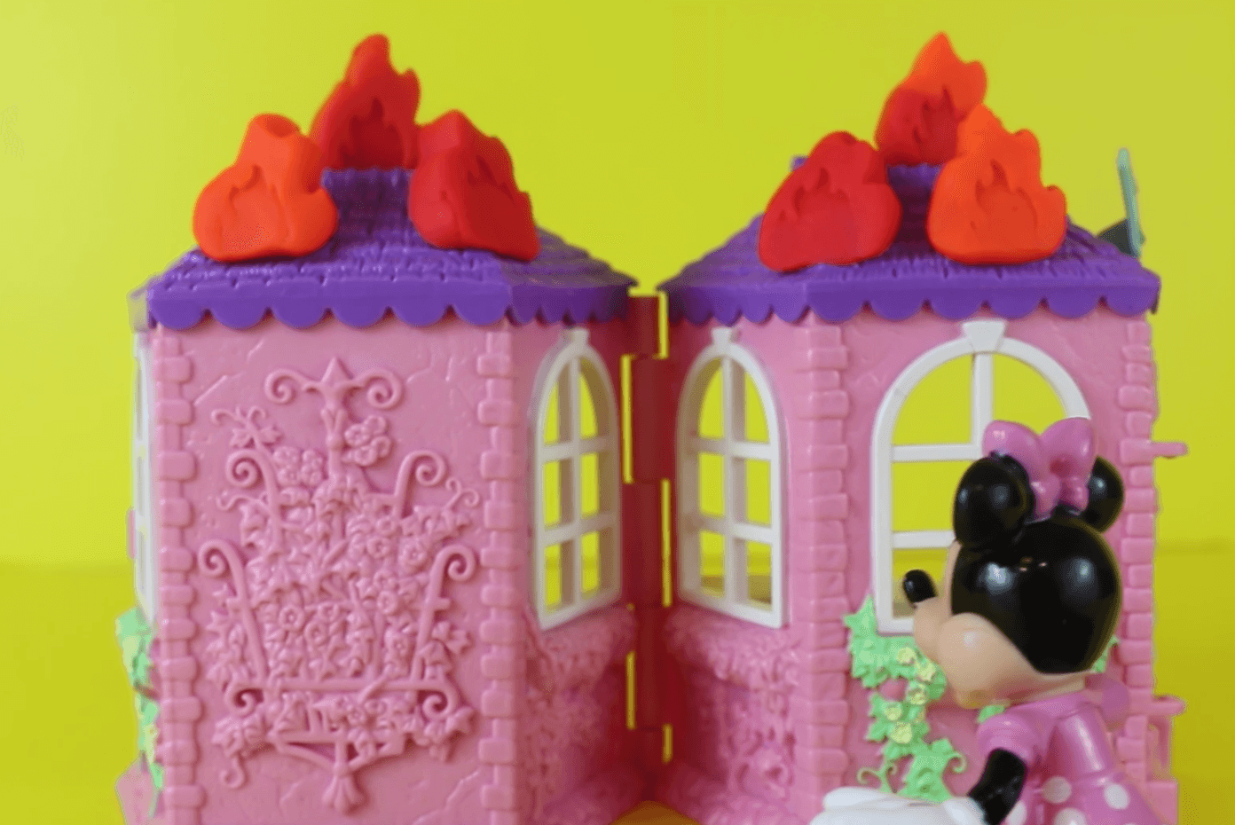 Minnie toy unboxing