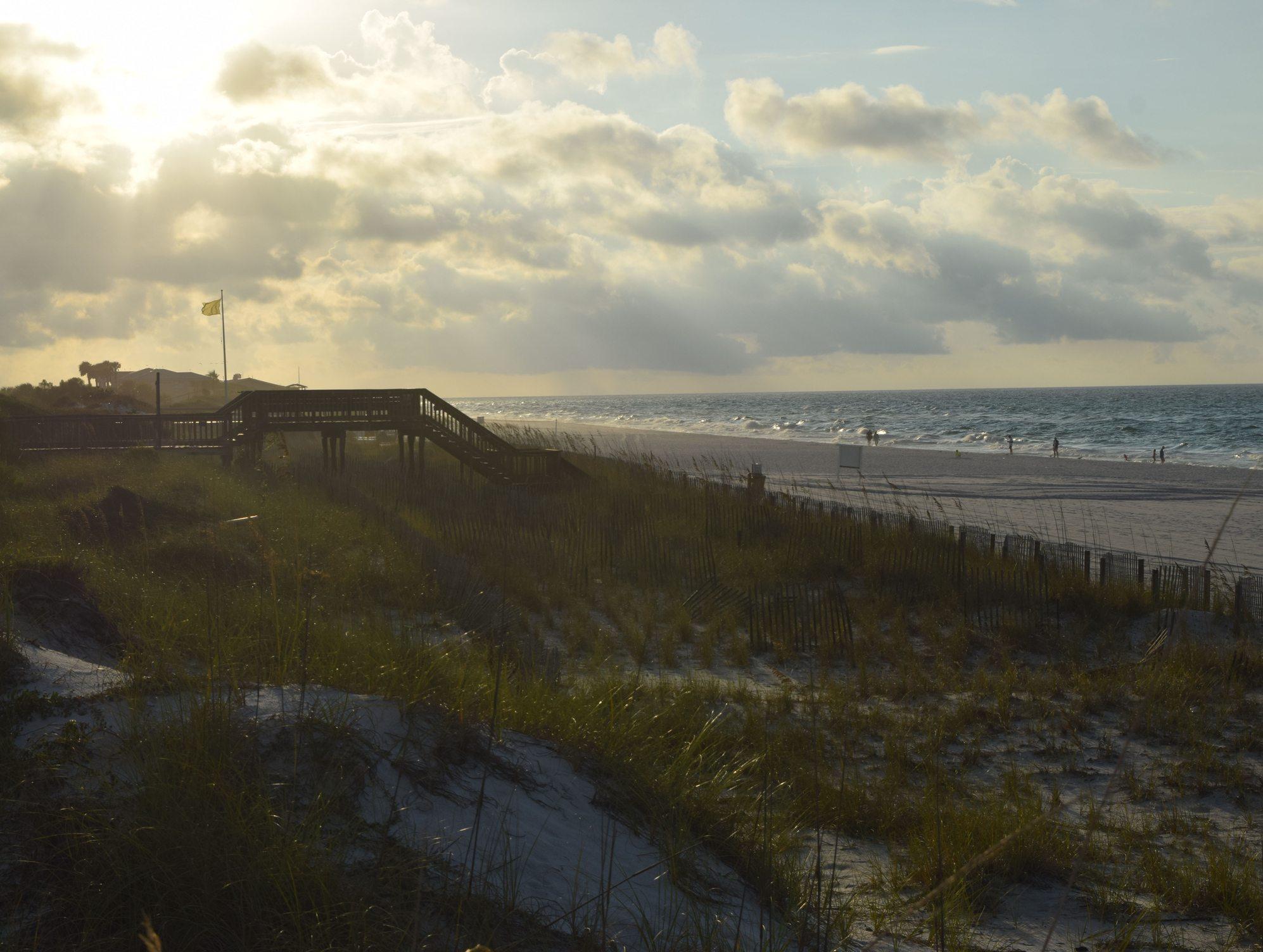 Sunrise in Miramar Beach, Florida.