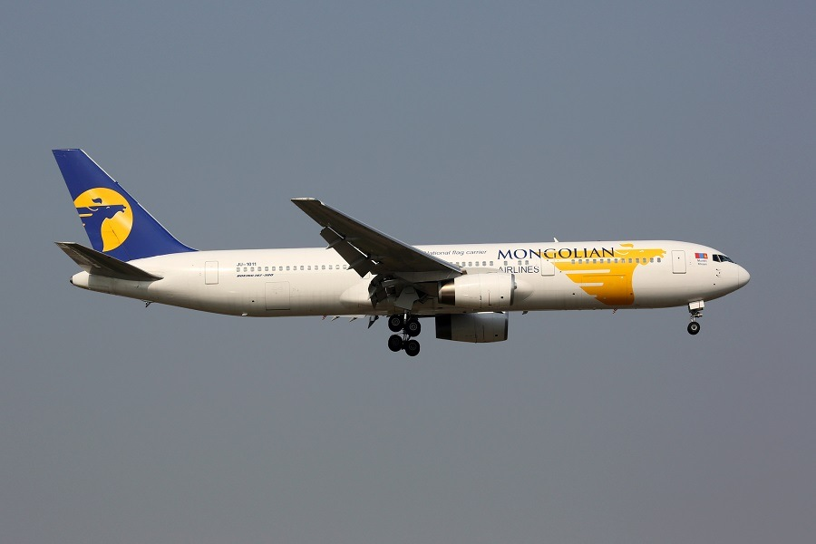 Mongolian plane