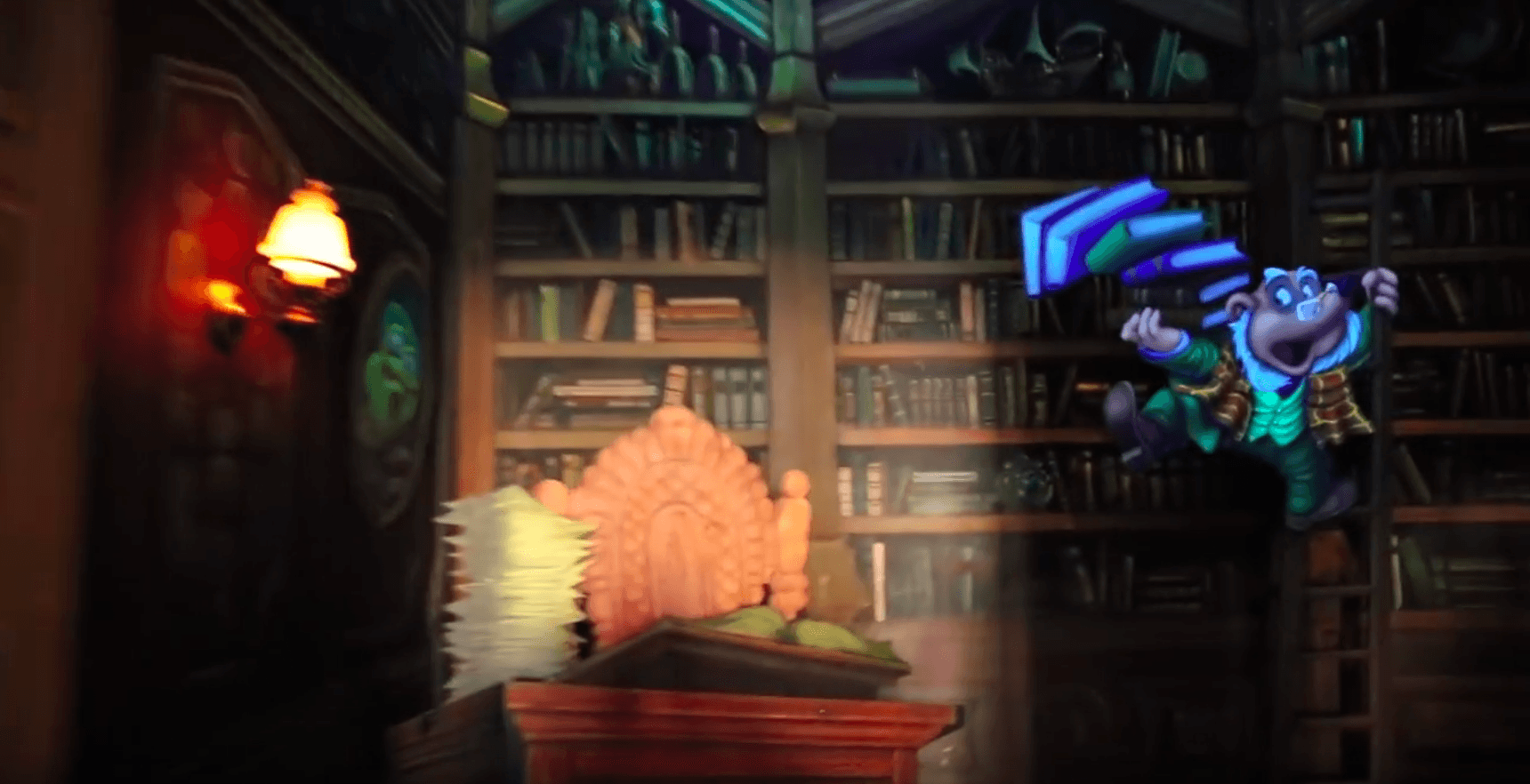 Mr. Toad's Wild Ride library