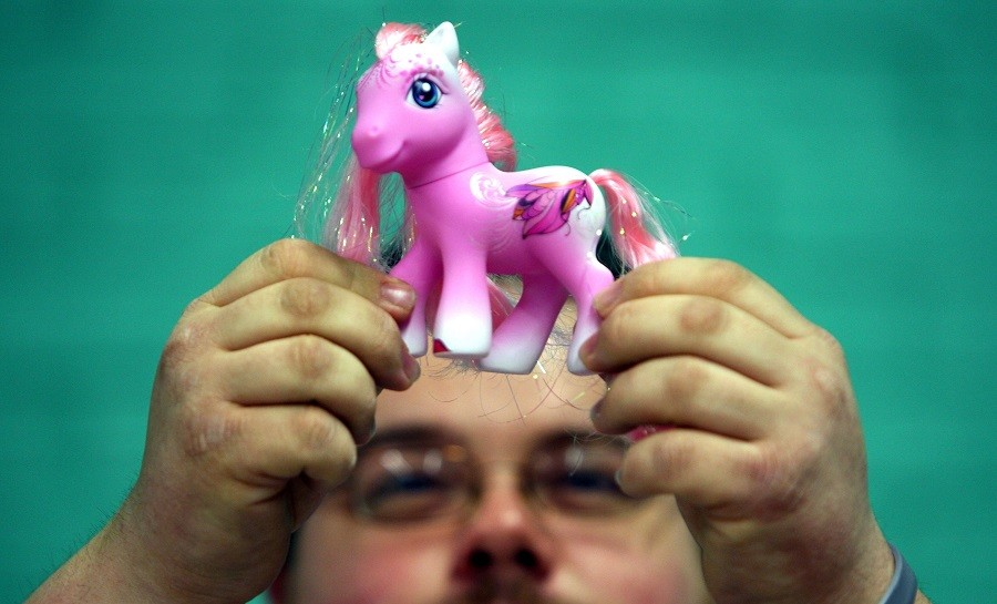 Chris Sallis from Sheffield looks at My Little Pony