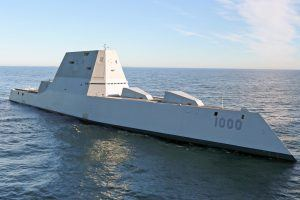 Inside the USS Zumwalt, a Stealth Destroyer That May Be the Most Advanced Warship Ever Built
