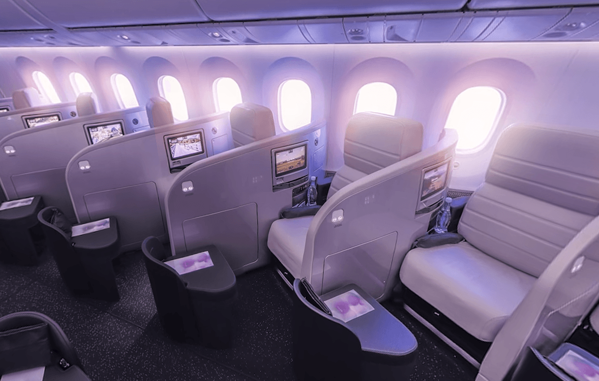 New Zealand air first class seats