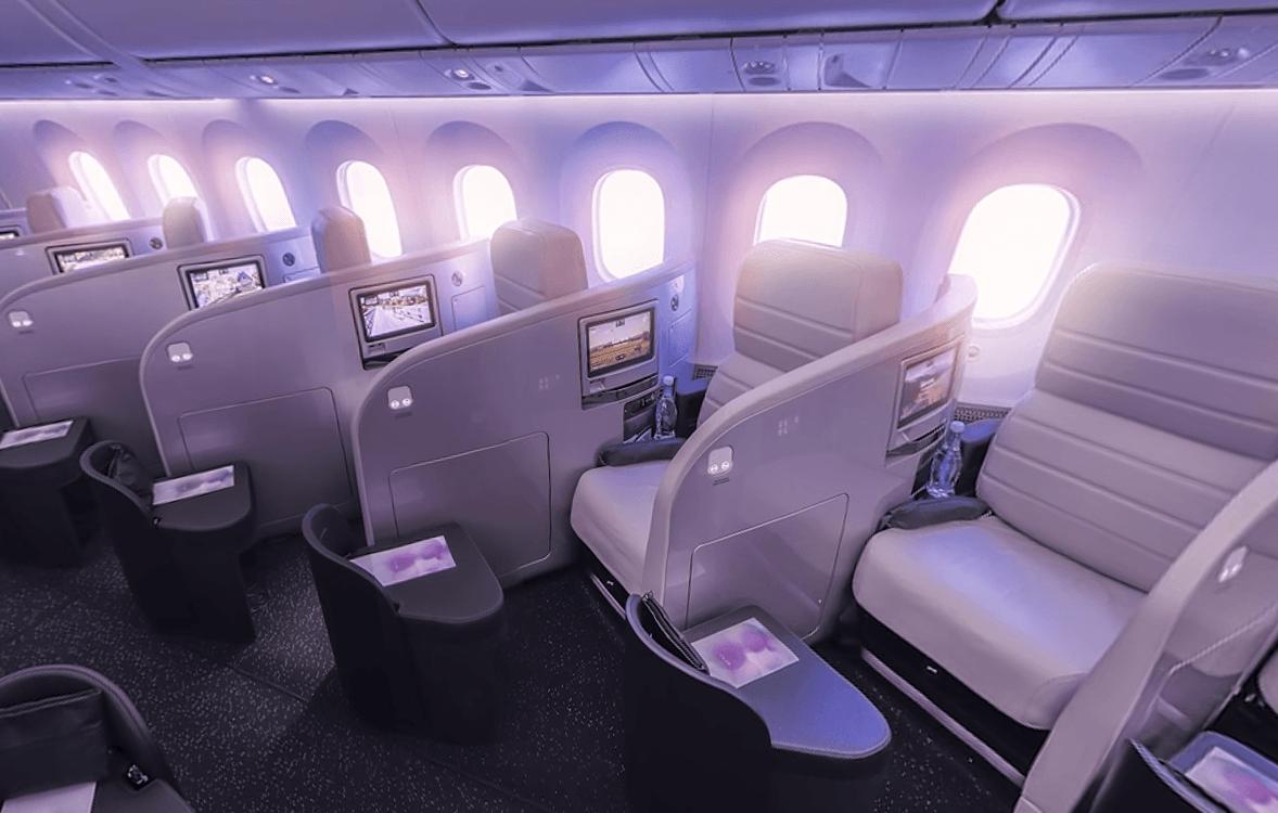New Zealand air first class seats
