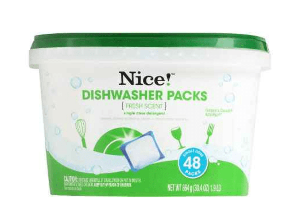 Walgreens Nice Dishwasher Tablets