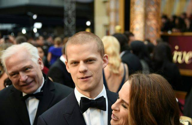 "Nominee for Best Supporting Actor ""Manchester By The Sea"" Lucas Hedges arrives on the red carpet for the 89th Oscars"