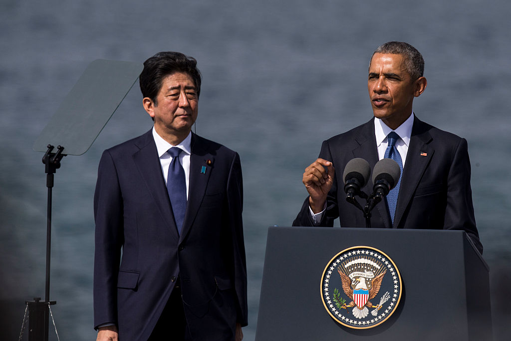 President Obama Meets With Japanese P.M. Shinzo Abe In Hawaii