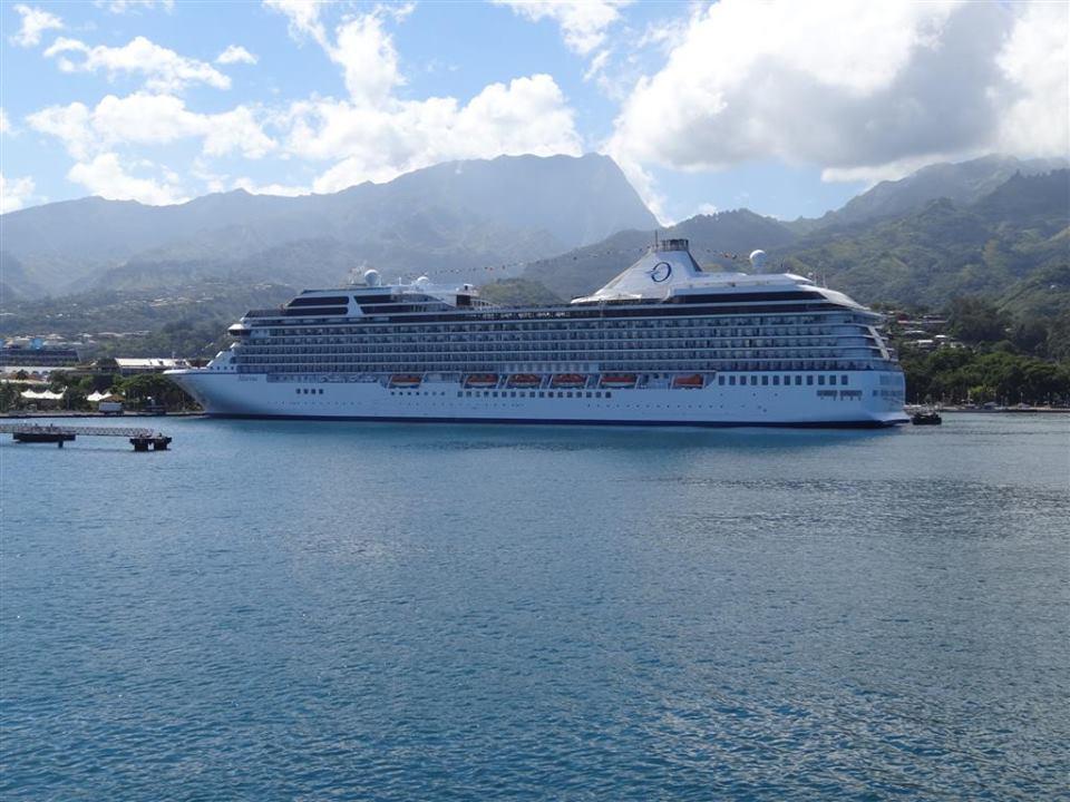 Oceania Cruises Tahiti