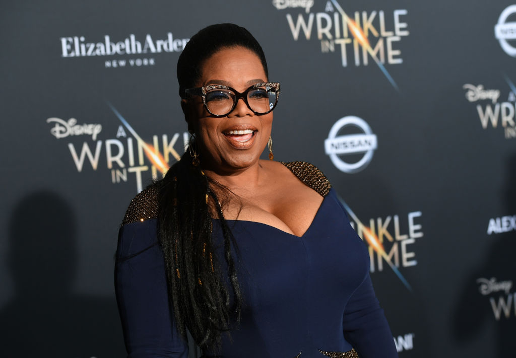 "Oprah Winfrey at premiere of Disney's ""A Wrinkle In Time"""