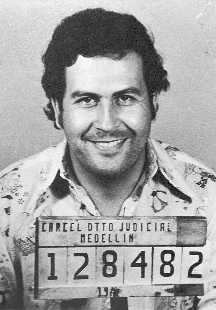 Pablo Emilio Escobar mugshot