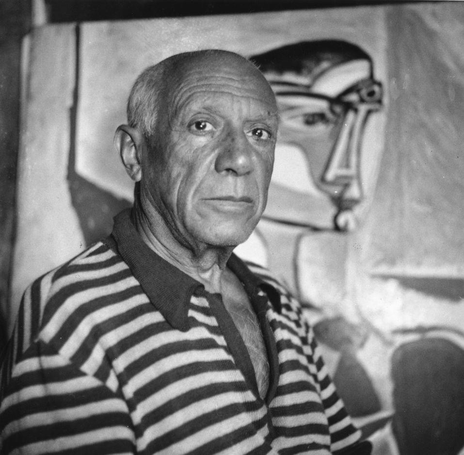 Spanish artist Pablo Picasso