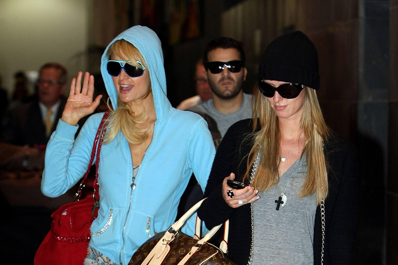 Paris Hilton Arrives In Melbourne