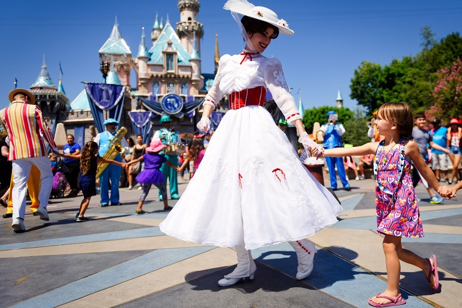 Mary Poppins at Disney World