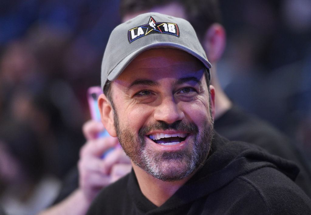 Jimmy Kimmel attends the NBA All-Star Game 2018