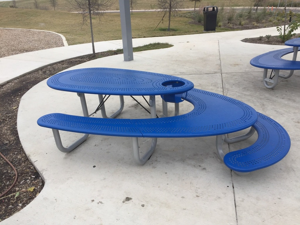 Picnic table kids wheelchairs
