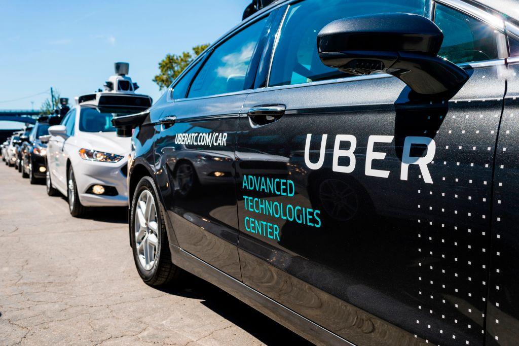 Pilot models of the Uber self-driving car