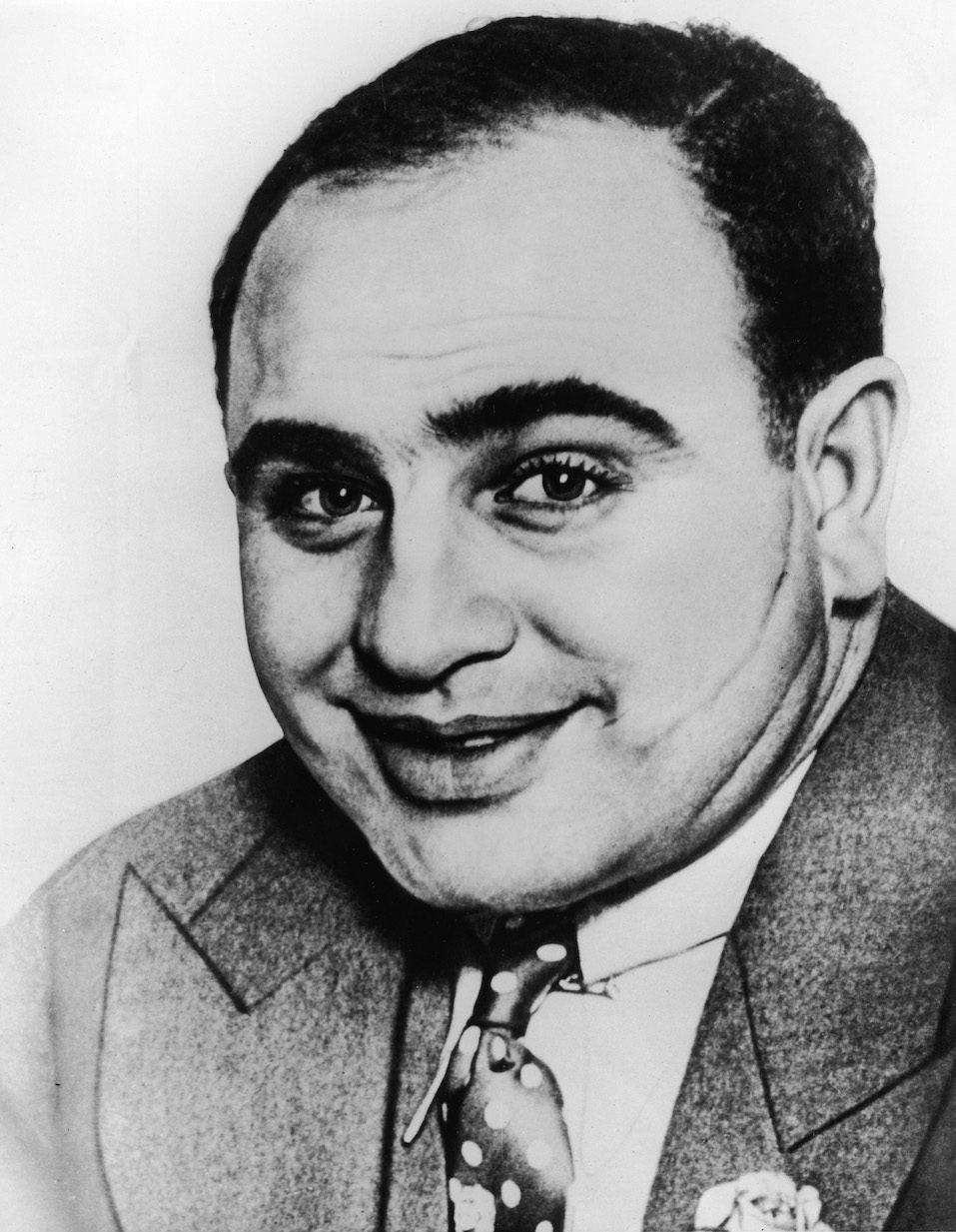 American gangster Al Capone