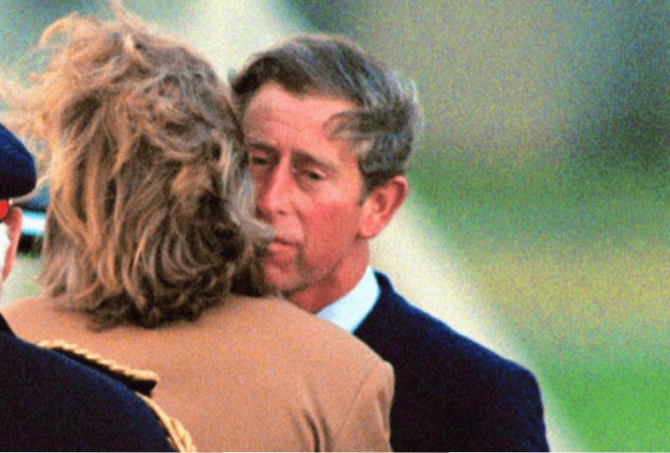 Prince Charles and Lady Sarah Spencer