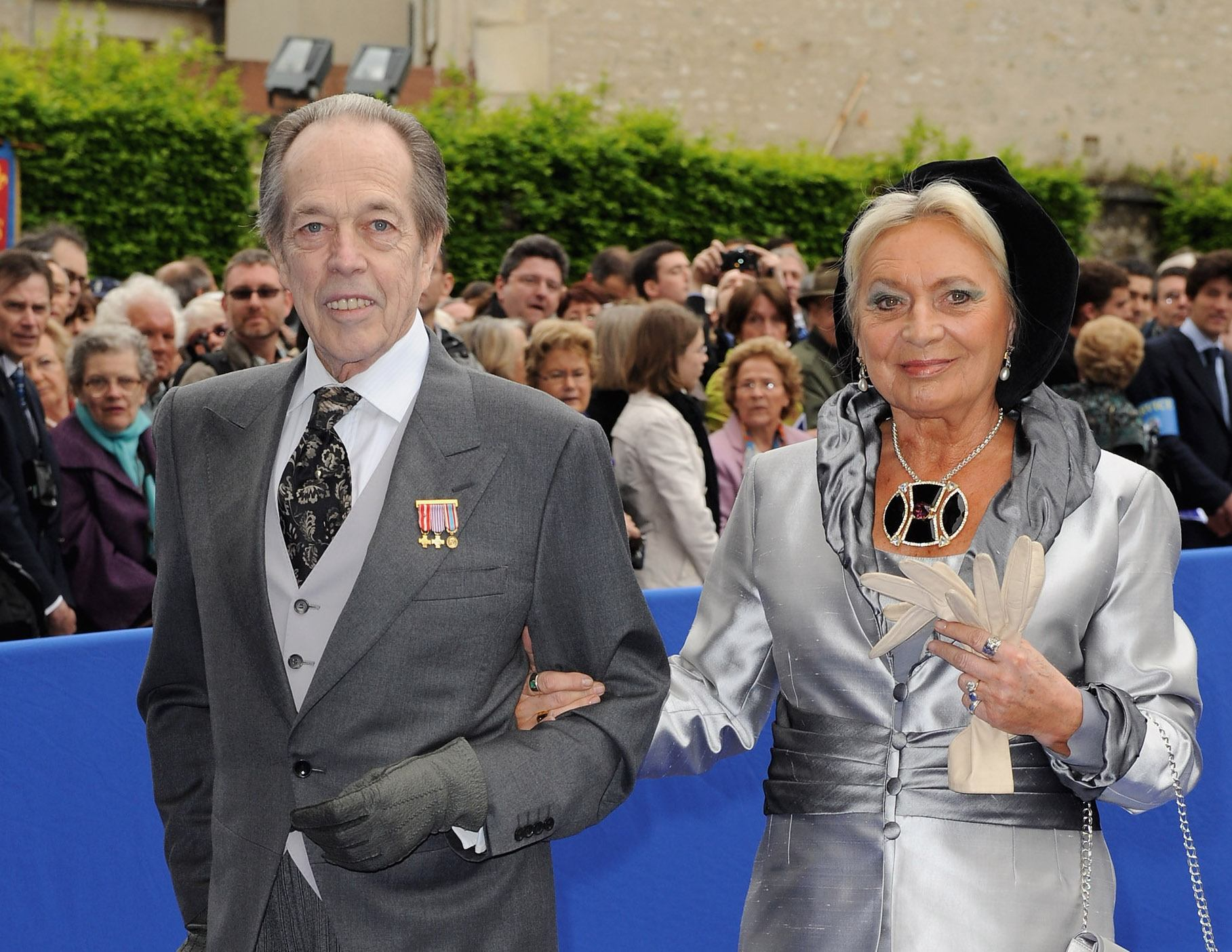 Prince Henri D'Orleans, Duc de Vendome and Philomena de Tornos Celebrate Wedding in Senlis
