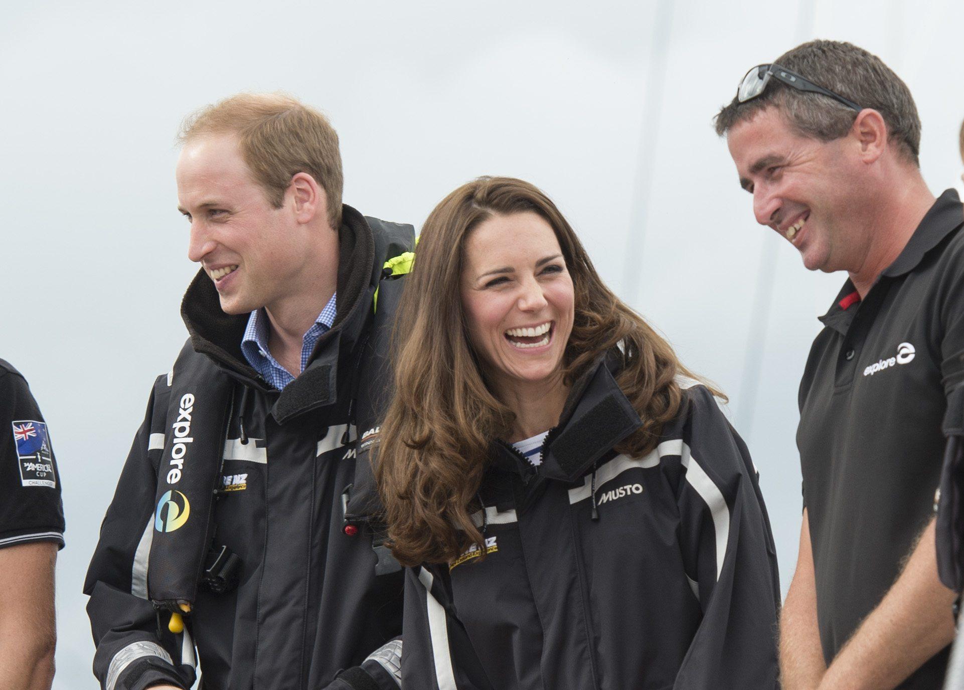 The Duke And Duchess Of Cambridge Tour Australia And New Zealand - Day 5