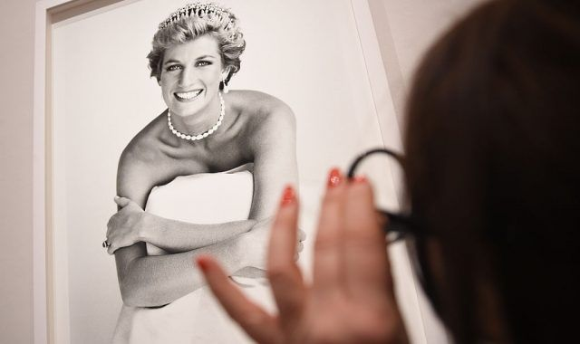 Princess Diana exhibit