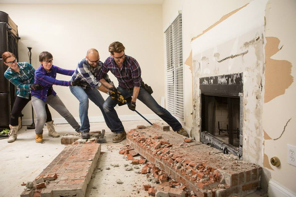Property brothers clients working