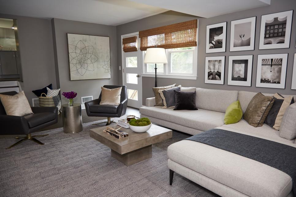 Property brothers white couch