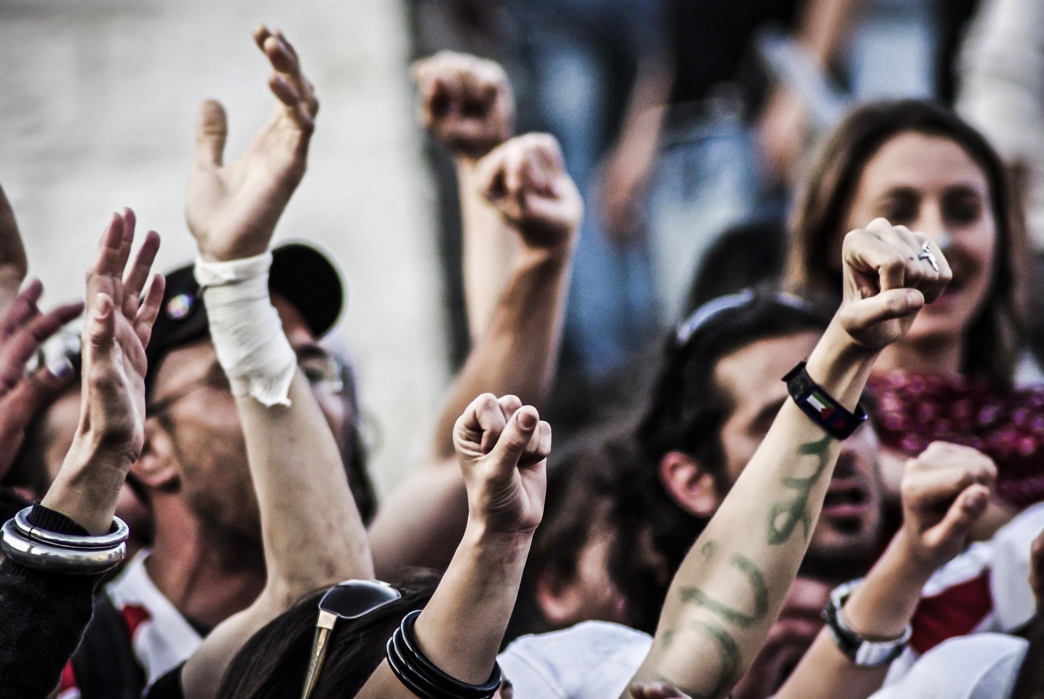 Activists Protesting
