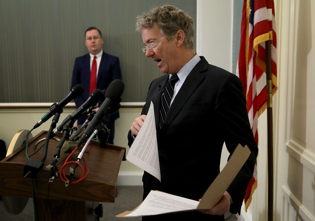 Sen. Rand Paul Discusses Trump's Recent Nominations Of Mike Pompeo And Gina Haspel