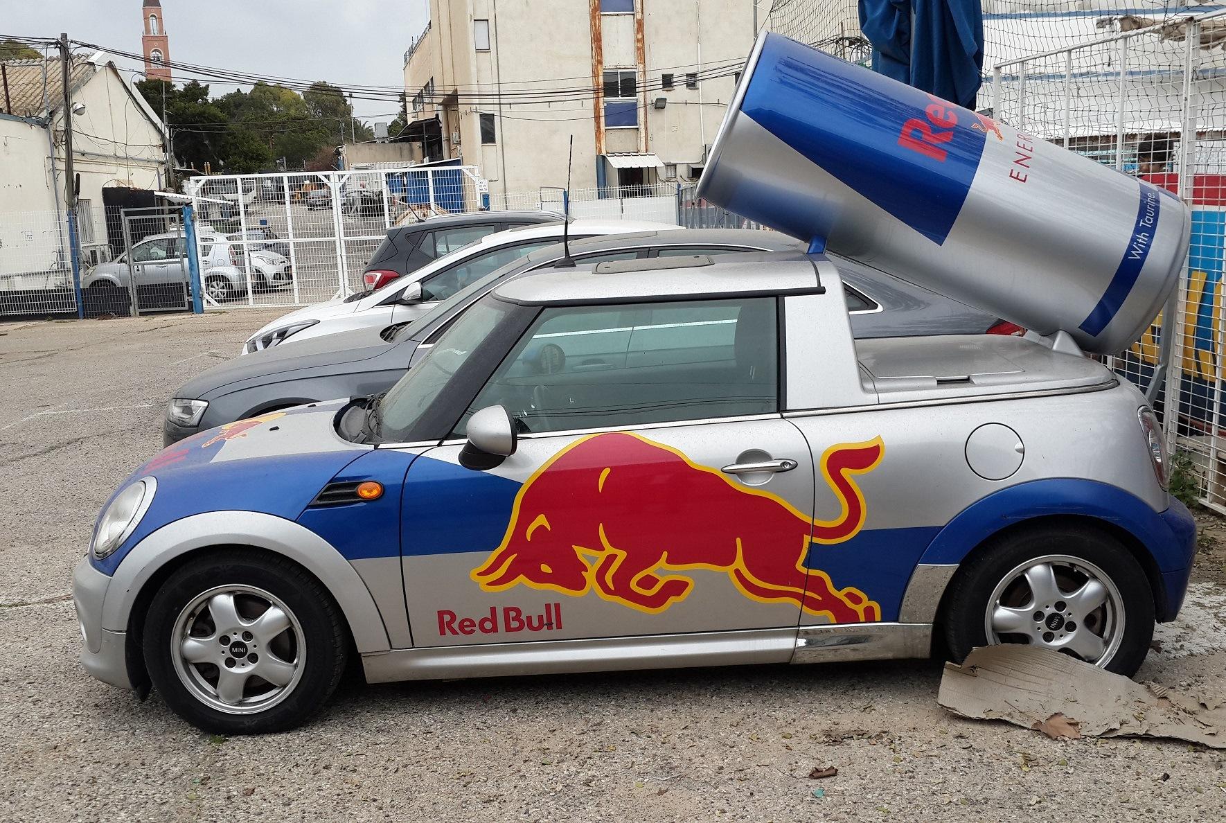 Redbull car