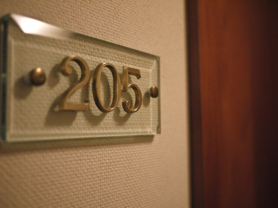 room number in hotel