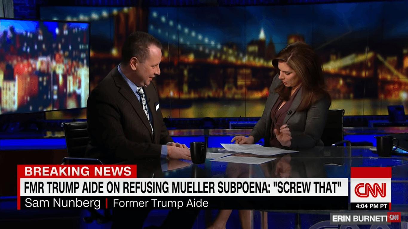 Sam Nunberg CNN