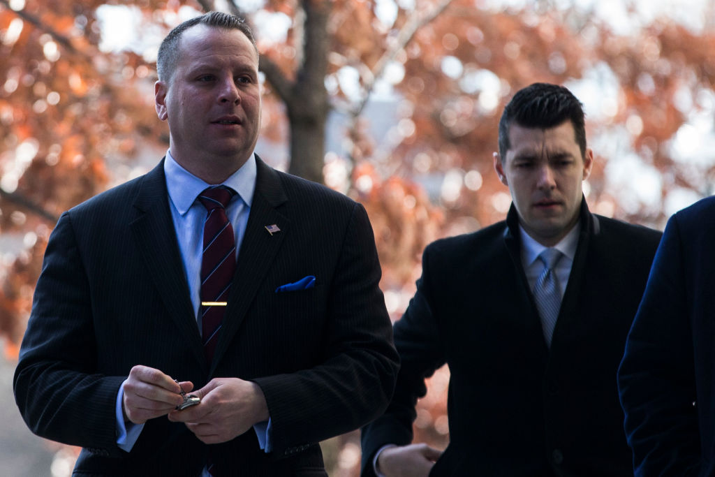 Former Trump Campaign Advisor Sam Nunberg Appears For Federal Court Appearance