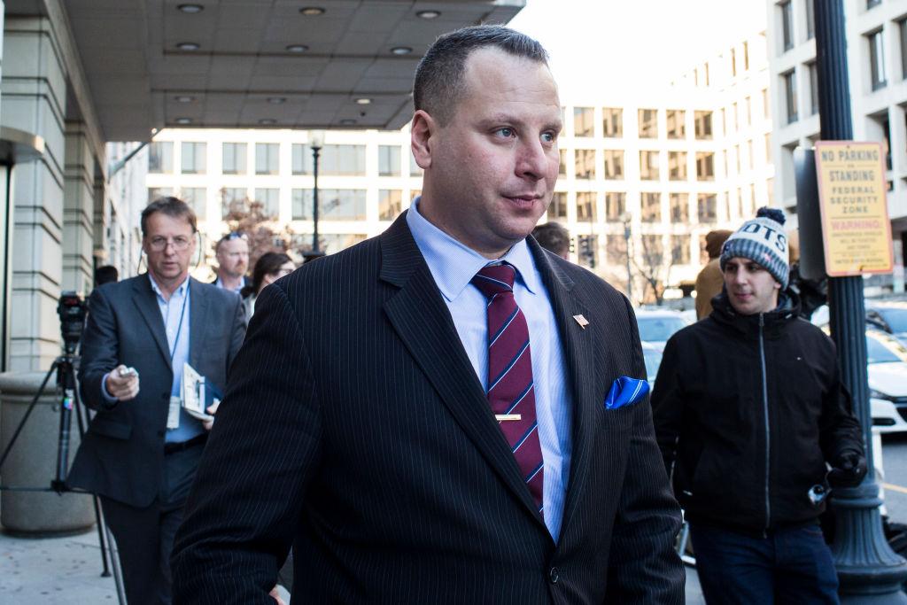 Former Trump Campaign Advisor Sam Nunberg Appears For Federal Court Appearance