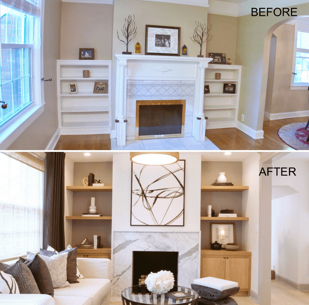 Property Brothers fireplace