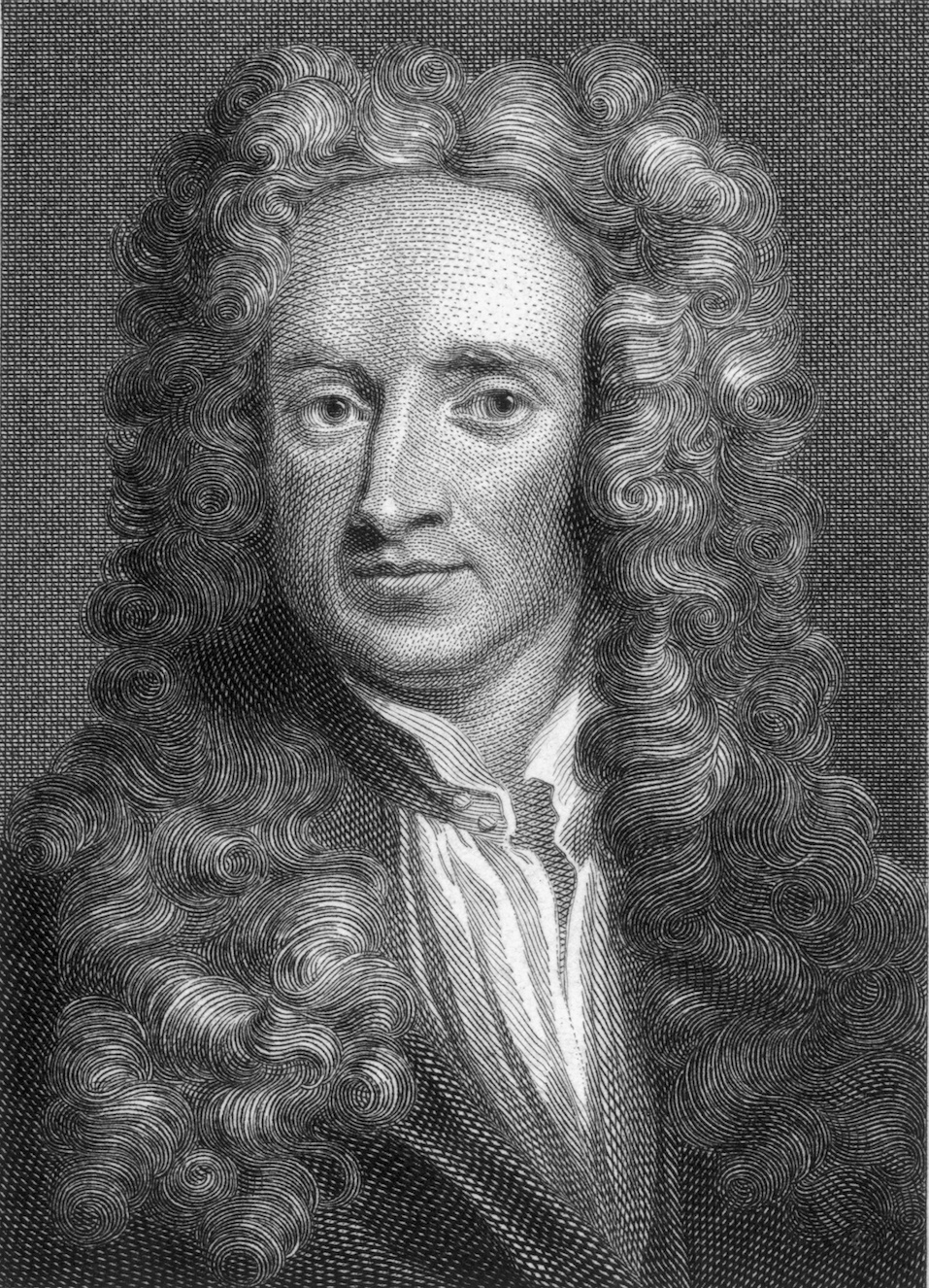 English physicist and mathematician Sir Isaac Newton