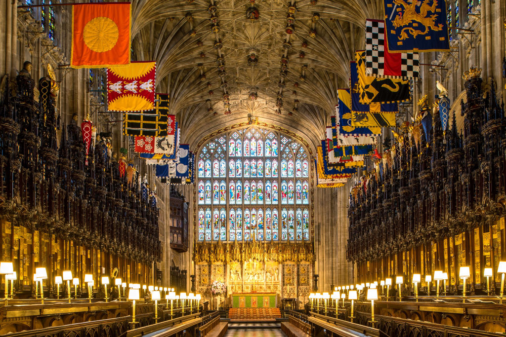 St George's Chapel at Windsor Castle