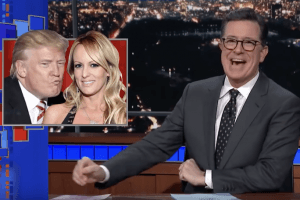 Late Night TV Hosts and Stormy Daniel's Interview Recap