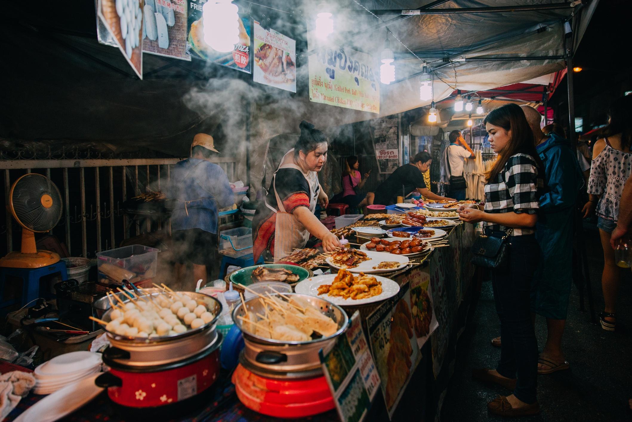 Thai woman sales at the Saturday Night Market
